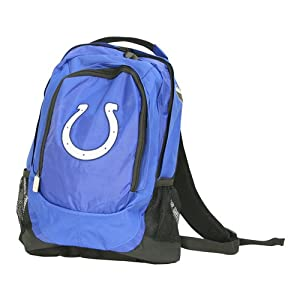 "Indianapolis Colts Officially licensed Backpack (Measures 17"" x 12"" x 5"")"
