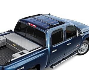 Amazon.com: 2007-2013 Chevrolet Silverado & GMC Sierra Black Roof Rack