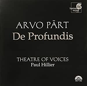 PART. De Profundis. Theatre of Voices/Hillier