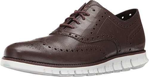 Cole Haan Men's Zerogrand Wing Ox Oxford, Dark Brown, 10.5 M US (Cole Haan Canvas compare prices)
