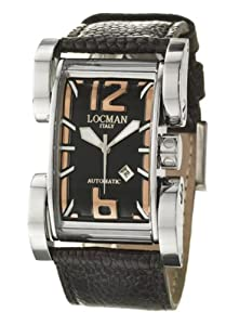 Locman Women's 501BKGN Latin Lover Collection Steel Watch by Locman