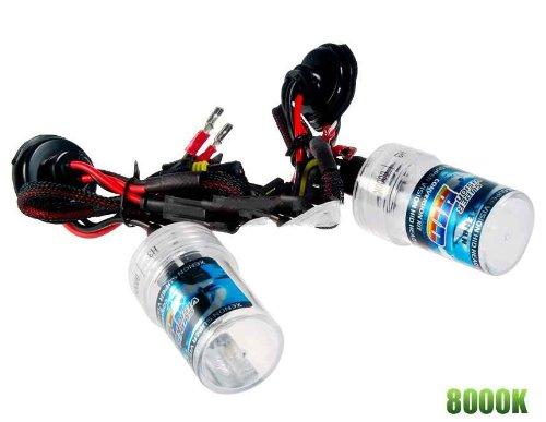 H3 8000K Hid Xenon Replacement Car Lamp