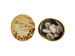 Bulk Buys Boxed Wishing Stones (Set of 80)