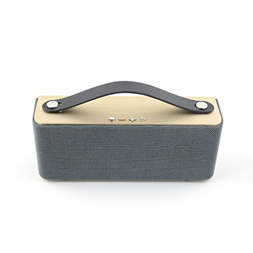 Granvela® A20 Portable Wireless Bluetooth Speakers Sports Bluetooth Speaker, A2Dp Stereo Bluetooth -Gold