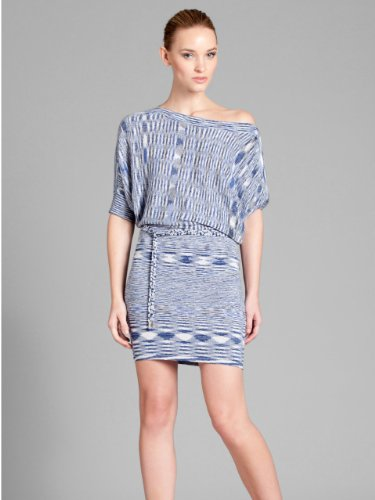 GUESS by Marciano Lynna Space Dye Dress, BLUE (MEDIUM)