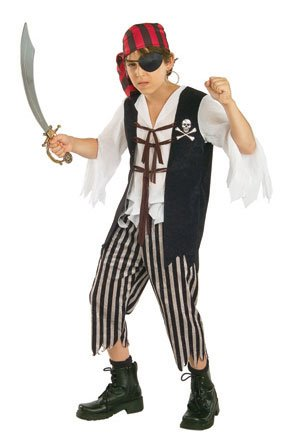 Kids Captain Skully Pirate Costume