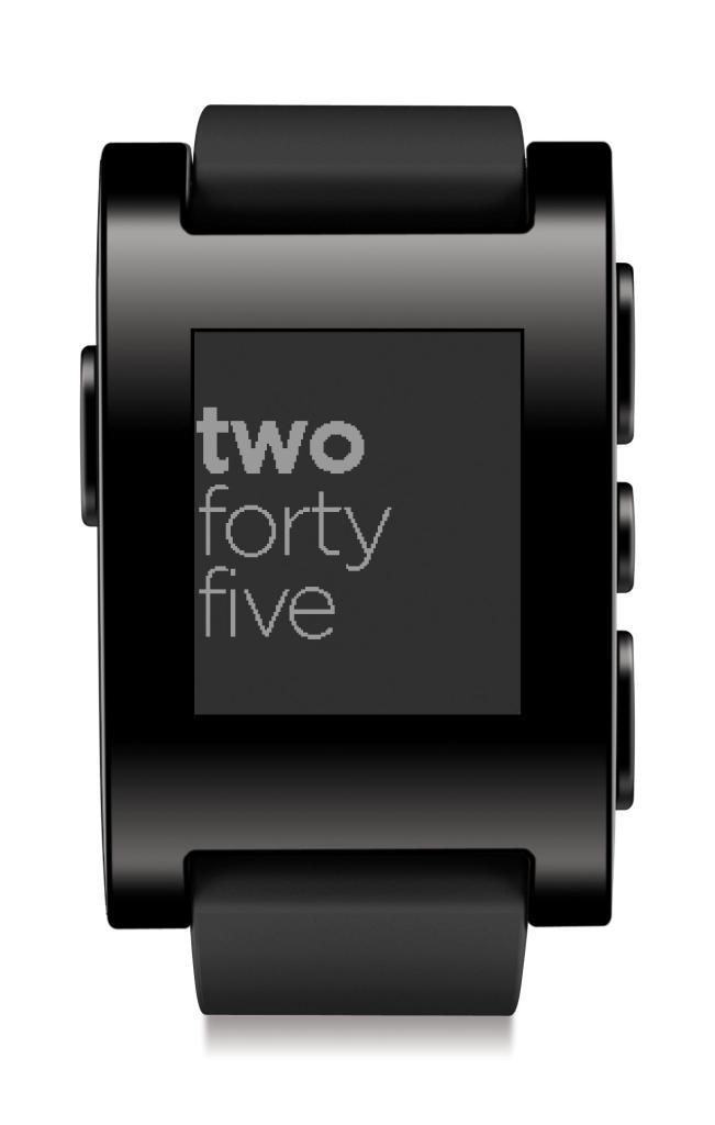Amazon.com: Pebble Smartwatch for iPhone and Android (Black): Cell
