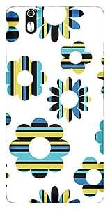 TrilMil Printed Designer Mobile Case Back Cover For Infocus M810