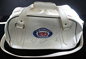 Buy Belding Sports Detroit Tigers Athletic Bag w  16 Signatures Cecil Fielder Auto - Other Game Used... by Sports Memorabilia