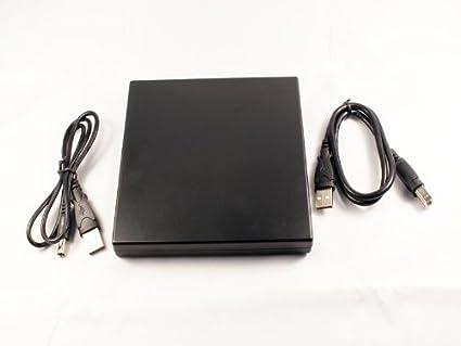 Case Custodia Esterno Nero CDROM Drive Ottico USB 2,0 USB2,0 Slim per tutti Laptop Notebook