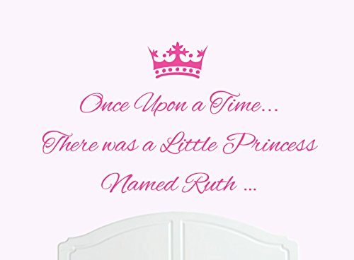once-upon-a-time-there-was-a-little-princess-named-ruth-large-wall-sticker-decal-bed-room-art-girl-b
