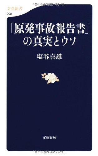 「原発事故報告書」の真実とウソ (文春新書)
