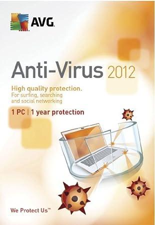 AVG 2012 Anti-Virus - 1 User - 1 Year [Download]