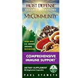 Fungi Perfecti Host Defense My Community Capsules, 60 Count, 3.2-Ounce