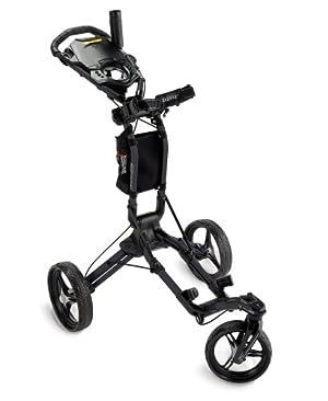Bag Boy TriSwivel Push Cart, Matte Black