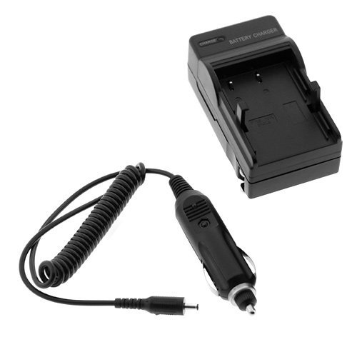 GTMax EN-EL9 Digital Camera & Camcorder Battery Charger with Car Adapter For Nikon D5000, D3000, D60, D40, D40x