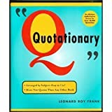 img - for Quotationary book / textbook / text book