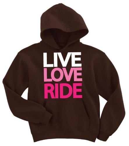 Live, Love, Ride Hoodie Sweatshirt