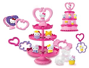 Hello Kitty Squishy Deluxe Cake n Stand: Amazon.co.uk: Toys & Games