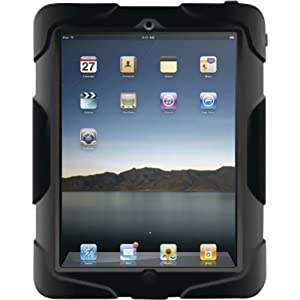 Griffin Survivor, Extreme-duty case for iPad 2, BLACK, GB02480