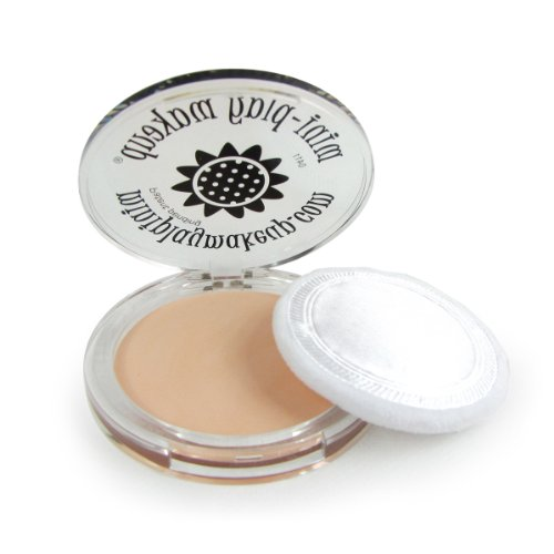 Pressed Powder Compact Girls Pretend Makeup Cosmetics - 1