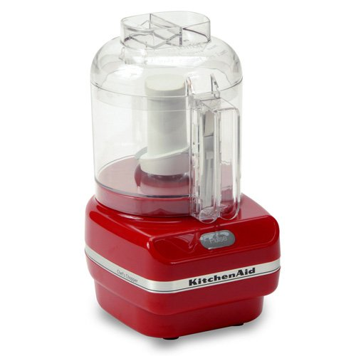 KitchenAid KFC3100ER Chef Series 3-Cup Food Chopper, Red