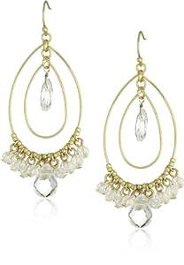 Flying Lizard Designs Gold Chandelier Earrings