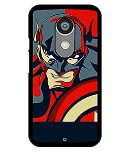printtech Superhero Avengers Shield Back Case Cover for Motorola Moto X2 , Motorola Moto X (2nd Gen)