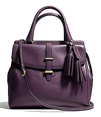 Coach 26261 LEGACY NORTH/SOUTH SATCHEL IN LEATHER