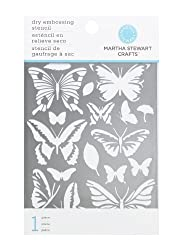 Martha Stewart Crafts Butterfly Embossing Stencils