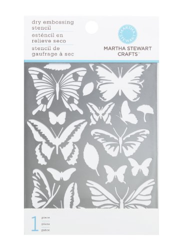Martha Stewart Crafts Embossing Flower Stencils