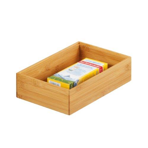 13332 Storage Box Bamboo 23 X 15 X 7 Cm 13332 13332 By Zeller