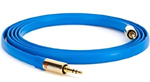 Griffin GC20016 Flat Auxiliary Cable 1.8 m Blue