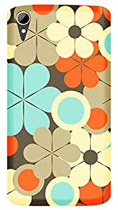 WOW Printed Designer Mobile Case Back Cover For HTC Desire 828