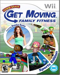 Jumpstart Get Moving Family Fitness Wii - 1