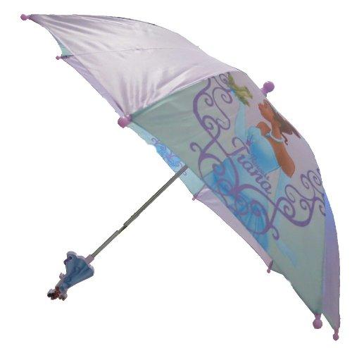 Disney Princess Frog Girl's Purple Umbrella