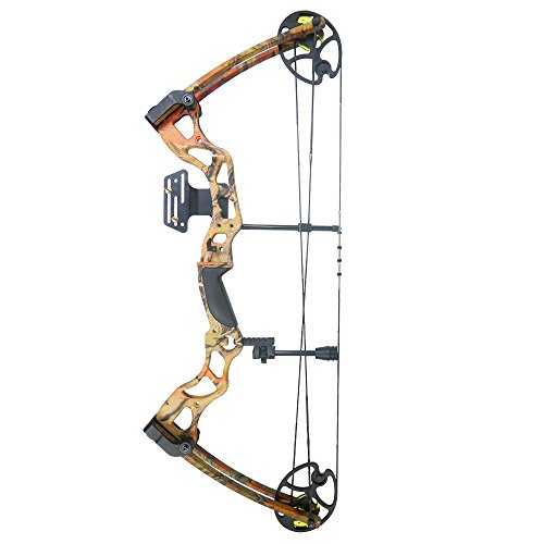 iGlow-40-70-lbs-Black-Camouflage-Camo-Archery-Hunting-Compound-Bow-175-150-60-55-30-lb-Crossbow