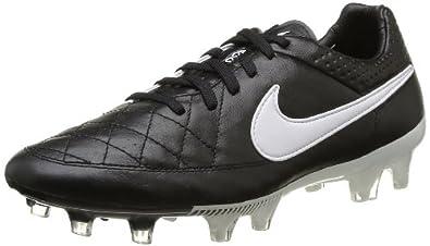 Nike TIEMPO LEGEND V FG Mens Soccer Black Black White US sz. by Nike