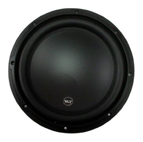 """12W3V3-4 - Jl Audio 12"""" Singles 4-Ohm W3V3 Series Subwoofer (12W3V3)"""