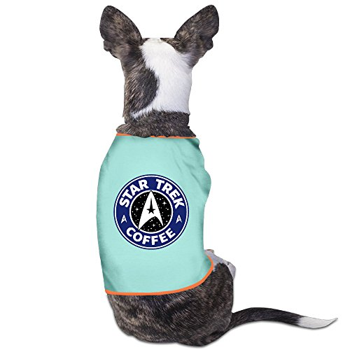 Logon 8 Pet Doggy Pets Costumes Star Trek Bucks SkyBlue Size S