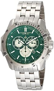 Chase-Durer Men's 850.2ESS Crossfire Stainless Steel Chronograph Watch by Chase Durer