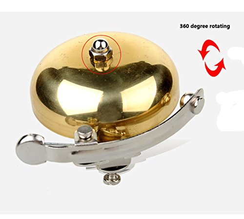 Bicycle Bell - Vintage Bike Bell for Outdoor Riding or Mountain Cycling - by Not Just A Gadget 5