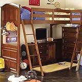 Lea Kids Deer Run Loft Bed with Bi-Loft Extension