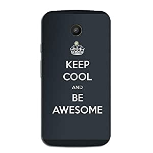 BE AWESOME BACK COVER FOR MOTOROLA MOTO G2