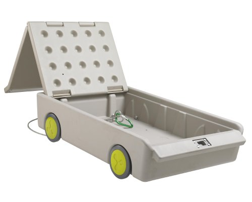 ecr4kids lock roll portable gun safe cabinet rolling storage container under bed ebay. Black Bedroom Furniture Sets. Home Design Ideas