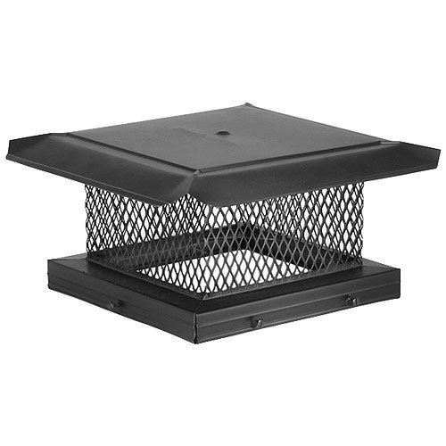Why Choose The Chimney 14719 HomeSaver Black Chimney Cap - .625 Inch Mesh - 17 Inches x 21 Inches
