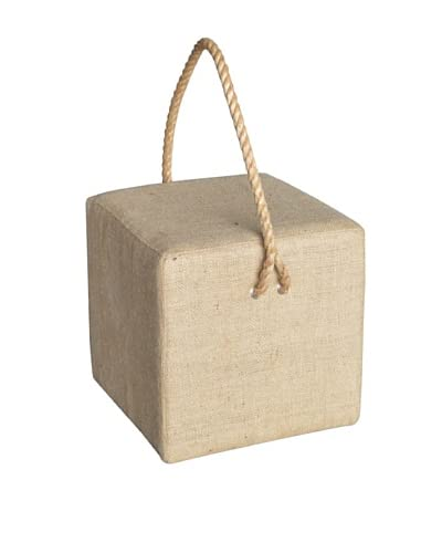 Jeffan Gonic Stool With Rope, Natural