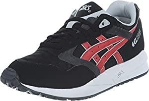 Asics Tiger Gel Saga Schuhe 11,5 black/burgundy