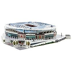 Nanostad(ナノスタッド) スタジアム3Dパズル アーセナル エミレーツ・スタジアム 3735