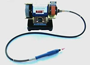 "RAND Bench Top Flex Shaft Die Grinder fits Dremel bits Flexible polisher buffer 3"" by Rand"